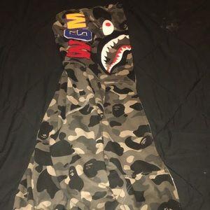 Bape Shark Zip-Up Hoodie